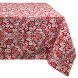 DII 100% Cotton Machine Washable Everyday Damask Kitchen Tablecloth For Dinne... - Chickadee Solutions - 1