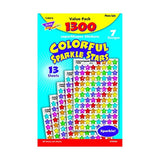 Trend Enterprises Sparkle Stars Stickers - 1/4 to 1/2 inches - Set of 1300 - ... - Chickadee Solutions