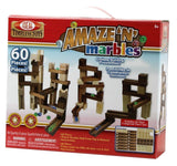 Ideal Amaze N Marbles 60 Piece Classic Wood Construction Set - Chickadee Solutions - 1