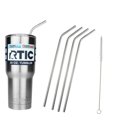 EHME 20 & 30 Ounce YETI Ramblers Drinking Strawsalso fits RTIC Tumblers Cups ... - Chickadee Solutions - 1