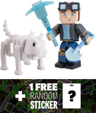 DanTDM Hero & Grim: Tube Heroes Mini Action Figure Pack + 1 FREE Official Min... - Chickadee Solutions - 1