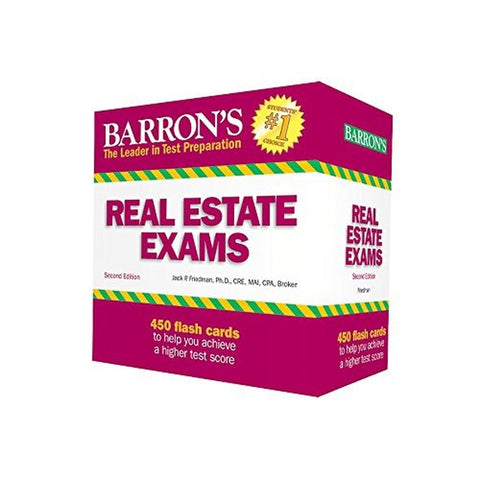Barron's Real Estate Exam Flash Cards 2nd Edition - Chickadee Solutions