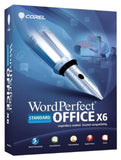 Corel WordPerfect Office X6 Standard [Old Version] PC Disc - Chickadee Solutions