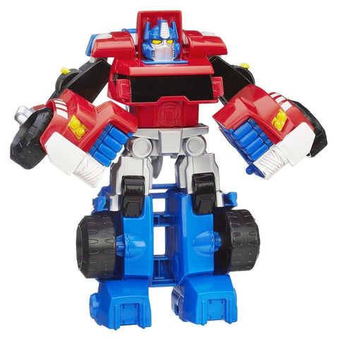 Playskool Heroes Transformers Rescue Bots Optimus Prime Exclusive Figure - Chickadee Solutions - 1