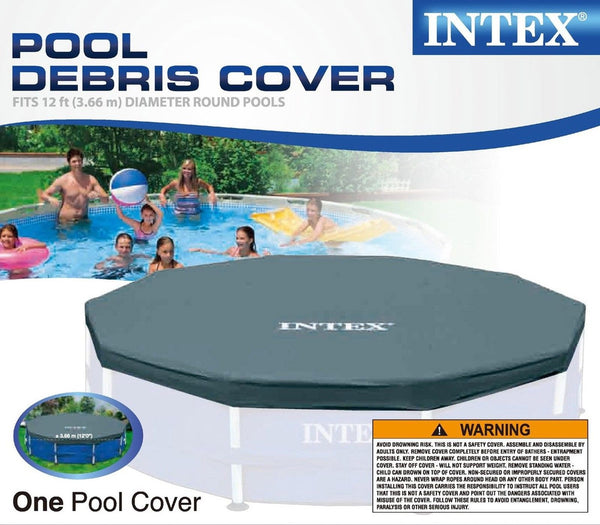 Intex 12ft Metal Frame Pool Cover Chickadee Solutions