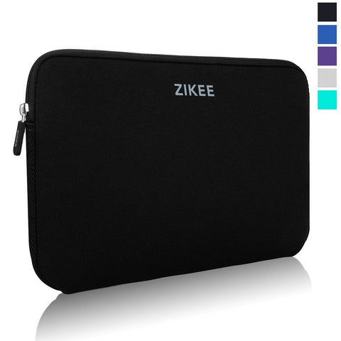 Zikee Laptop Sleeve Case Bag 17 17.3 inch Neoprene Water resistant Notebook C... - Chickadee Solutions - 1