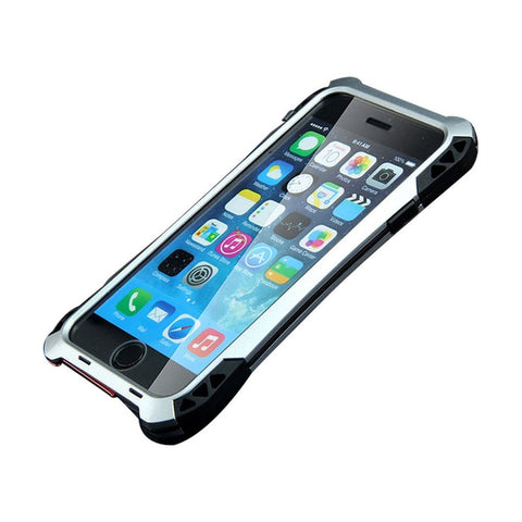 iPhone 6 case Meiya New Aluminum metal shockproof Gorilla Glass weather proof... - Chickadee Solutions - 1
