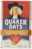 Quaker oats old fashioned 2 5 lb. bags 100+ servings 10-lb 10 Pounds - Chickadee Solutions - 1