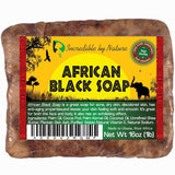 #1 Best Quality African Black Soap - 1lb (16oz) Raw Organic Soap for Acne Dry... - Chickadee Solutions - 1
