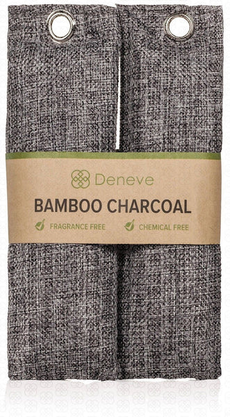 Natural Air Purifying Bags By Deneve Activated Charcoal Bamboo Shoe Odor El Chickadee