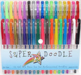 Super Doodle Gel Pens - 36 Color Premium Gel Pen Set - Chickadee Solutions - 1