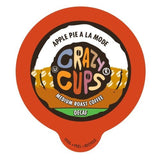Crazy Cups Decaf Apple A La Mode Flavored Coffee Single Serve Cups (22 Count) - Chickadee Solutions - 1