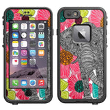 Skin Decal for LifeProof iPhone 6 Case - Elephant In Groveland - Chickadee Solutions