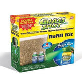 Grass Shot Refill Kit (Covers 700 sq. ft.) - 2 lbs. Seed Blend & 2 Bottles of... - Chickadee Solutions - 1