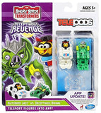 Angry Birds Transformers Telepods Autobird Jazz Bird vs. Deceptihog Brawl Pig... - Chickadee Solutions