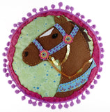 American Girl Crafts Horse Pillow - Chickadee Solutions - 1