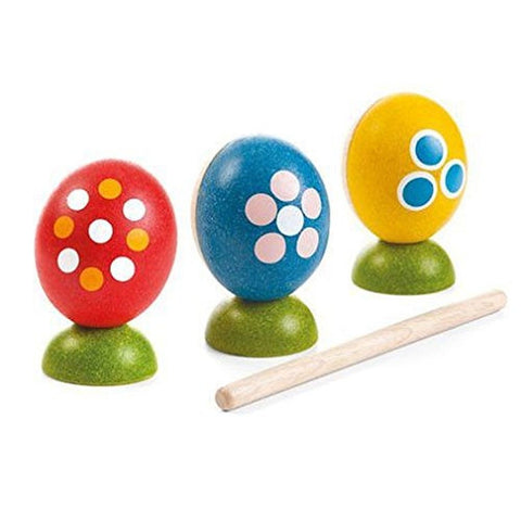Plan Toys Egg Percussion Set - Chickadee Solutions