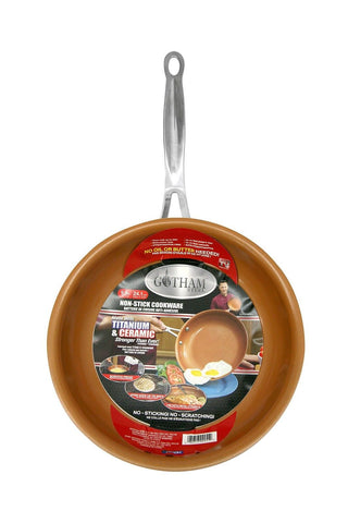 "GOTHAM STEEL 9.5 inches Non-stick Titanium Frying Pan by Daniel Green 9.5"" 1 - Chickadee Solutions - 1"
