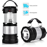 Bright LED Camping Lantern Portable Collapsible Solar Rechargeable power bank... - Chickadee Solutions - 1