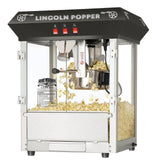 Great Northern Popcorn Black Bar Style Lincoln 8 Ounce Antique Popcorn Machin... - Chickadee Solutions - 1