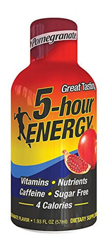5 Hour Energy Energy Shots Pomegranate 12 pk 12 Count - Chickadee Solutions - 1