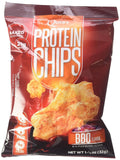 Quest Nutrition Protein Chips BBQ 21g Protein Baked 1.2oz Bag 8 Count - Chickadee Solutions - 1