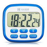 Habor Digital Kitchen Timer magnetic Electric Cooking Fitness Timers Countdow... - Chickadee Solutions - 1