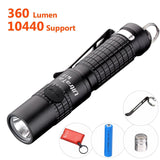 Best Small Flashlight Highest 360 lumens: UltraTac K18 Powerful LED AAA Key C... - Chickadee Solutions - 1