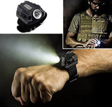 Soondar Super Bright Wrist LED Light R5 Rechargeable Waterproof LED Flashligh... - Chickadee Solutions - 1