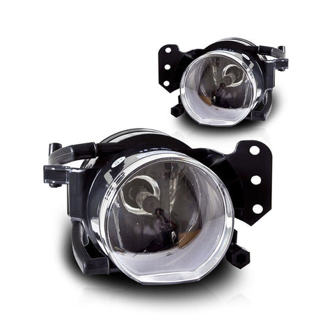 04-08 BMW E60 5 Series OEM Fog Lights Clear Lens Pair - Chickadee Solutions - 1