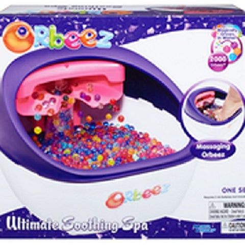 orbeez ultimate soothing spa instructions