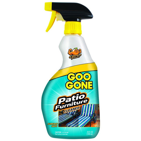 Goo gone patio furniture cleaner 24 fl oz chickadee for Patio cleaning solution