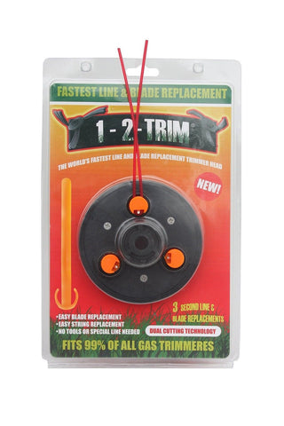 1-2-Trim Blade and Line Gas Trimmer Universal Weed Eater Head Replacement - Chickadee Solutions
