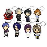 Cosplay Tokyo Ghoul Anime Characters 8 PCS Keychain Key Pendant Accessories - Chickadee Solutions - 1
