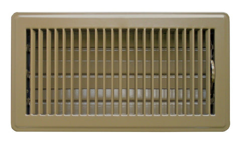 Accord ABFRBR610 Floor Register with Louvered Design 6-Inch x 10-Inch(Duct Op... - Chickadee Solutions - 1