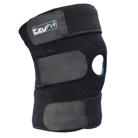 EzyFit Knee Brace Support Dual Stabilizers & Open Patella - Adjustable Breath... - Chickadee Solutions - 1