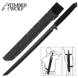 Timber Wolf Full Tang Ninja Sword - Chickadee Solutions