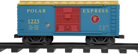 Lionel Trains Polar Express 10th Anniversary G-Gauge Boxcar - Chickadee Solutions