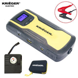 KRIGER 11100mAh Lithium ion Jump Starter Power Bank with Portable Tire Inflat... - Chickadee Solutions - 1
