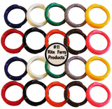 "20 MULTI COLORED #11 LEG BANDS 11/16"" CHICKEN POULTRY CHICK QUAIL PIGEON DUCK... - Chickadee Solutions"