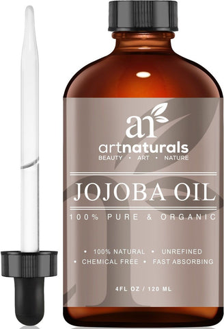 ArtNaturals Organic Jojoba Oil 100% Pure Virgin Cold Pressed Unrefined Organi... - Chickadee Solutions - 1