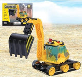 Excavator - Building Set by Brictek (14007) - Chickadee Solutions