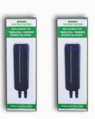 (2-Pack) Spring Refrigerator Water Filter Replacement Compatible to Whirlpool... - Chickadee Solutions