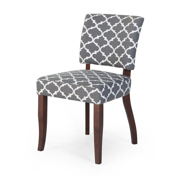 Belham Living Paige Open Back Dining Chair Grey