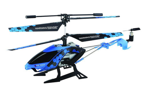 Sky Rover Stalker 3 Channel IR Gyro Helicopter Blue Vehicle Standard Packaging - Chickadee Solutions - 1
