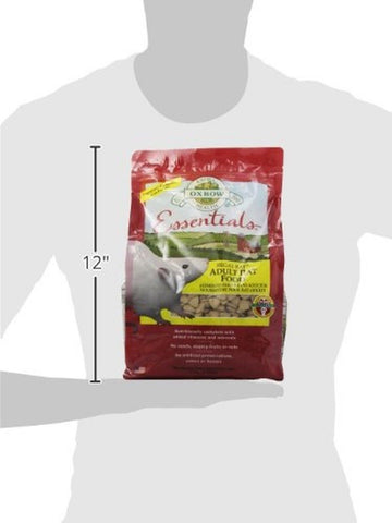 Oxbow regal rat food 3 pound bag chickadee solutions for Cuisine regale