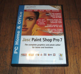 Jasc Paint Shop Pro 7 (PC Home & Office) - Chickadee Solutions