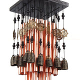 Ylyycc 28 metal tube wind chime copper bell decoration wind chime YLYYCC - Chickadee Solutions - 1