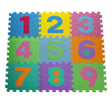HemingWeigh Kid's Multicolored Numbers Puzzle Play Mat - Chickadee Solutions - 1