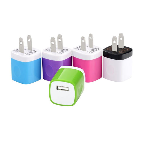 Wall Charger Ailkin [5-Pack] 5V/1AMP 1-Port USB Home Travel Wall Charger Plug... - Chickadee Solutions - 1